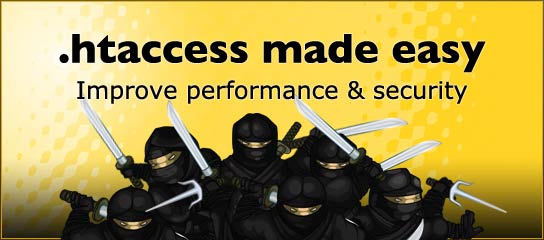 eBook: .htaccess made easy
