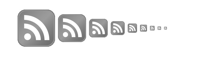 [ Greyscale Feed Icons ]