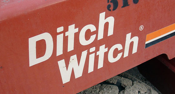 [ Image: The Ditch Witch Logo ]