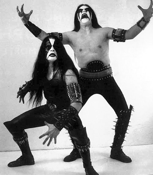 [ Image: Fabulous Shot of Immortal's Abbath and Horgh ]
