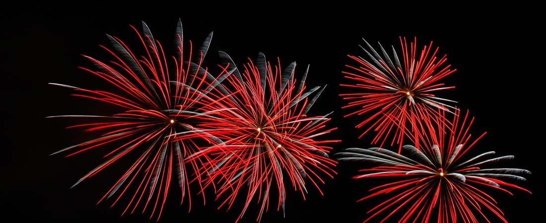 [ Image: Fireworks Exploding ]