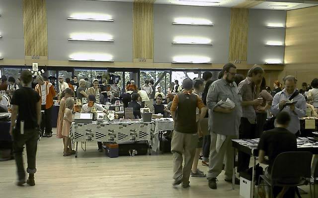 [ Image: More zinesters at the 2007 Portland Zine Symposium ]
