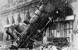 [ Train Wreck at Montparnasse ]