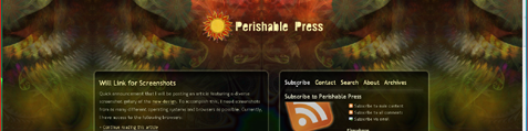 Perishable Press on Vista Opera