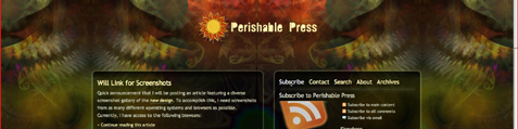 Perishable Press on Vista Safari