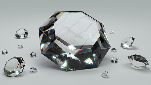 [ Photo: Cut Diamonds ]