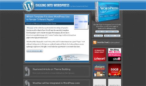 [ DigWP.com Site Redesign ]