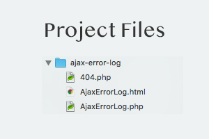 [ Ajax Error Log - File Structure ]