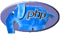 [ Screenshot: PHP Logo (blue elephant) ]