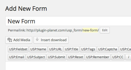 [ USP Pro - Front-end Forms ]