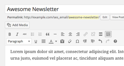 SES Pro - Visual Email Editor