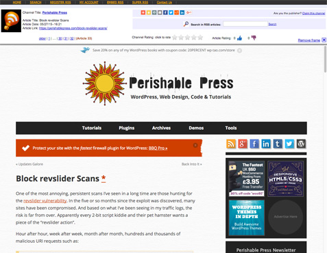 [ Perishable Press framed at RSSing.com ]