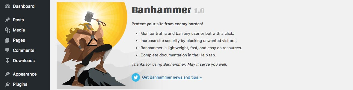 [ Banhammer - Plugin Settings ]
