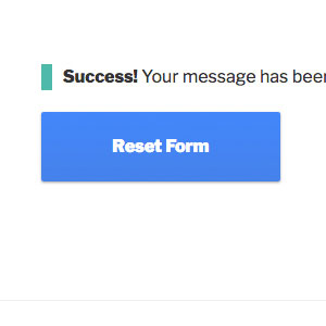[ Contact Form X: Success Messages ]