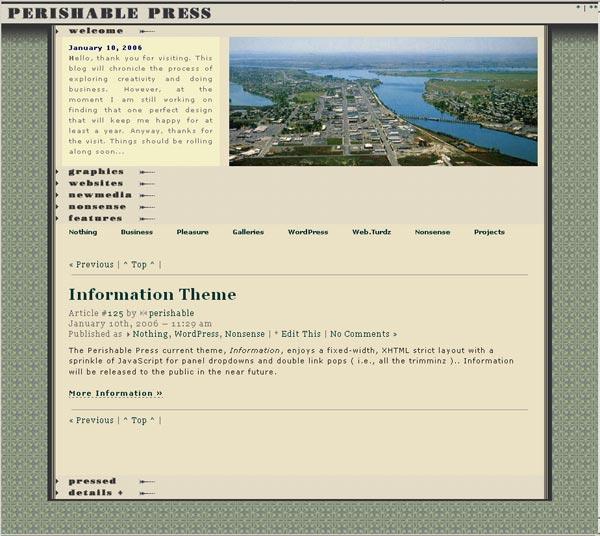 [ Information Theme ]