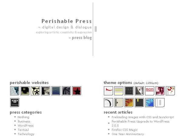 [ minimalist Theme ]